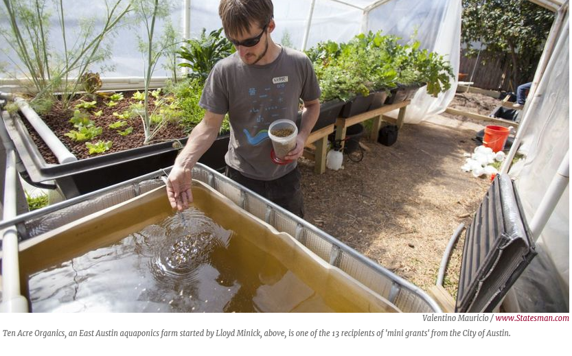 Can Bastrop County Support Urban Agriculture Small Farms