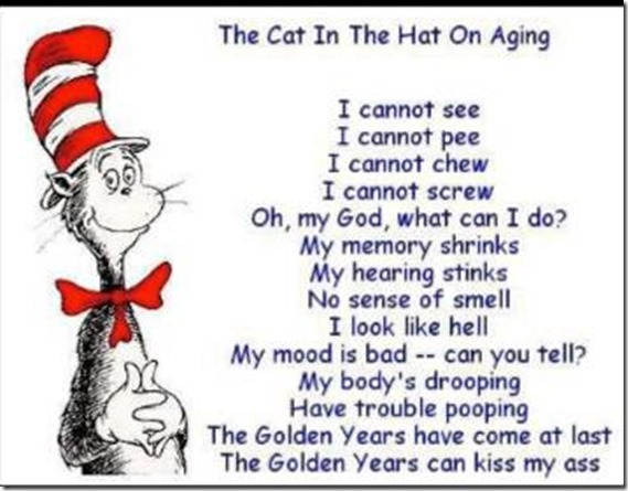 Cat in the Hat-aging